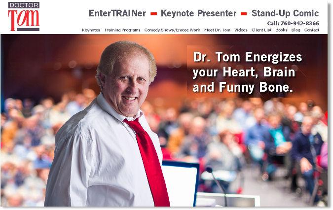 Dr. Tom Steiner, Professional Speaker and Trainer